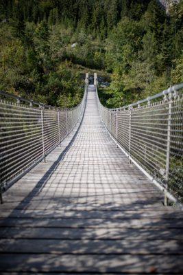 Hängebrücke Klausbach