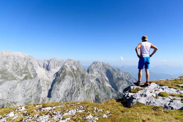 Auf dem Gipfel des Schneibstein 2.276m
